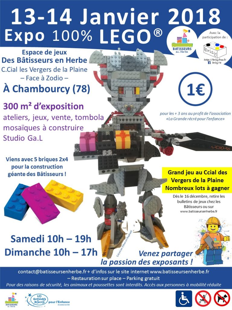 Exposition Lego Chambourcy - 13 - 14 janvier 2018